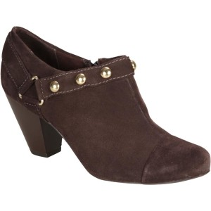 ankle boot lillys closet marrom