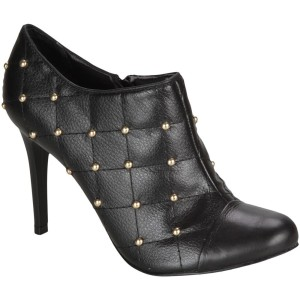 ankle boot lillys closet preto tachas