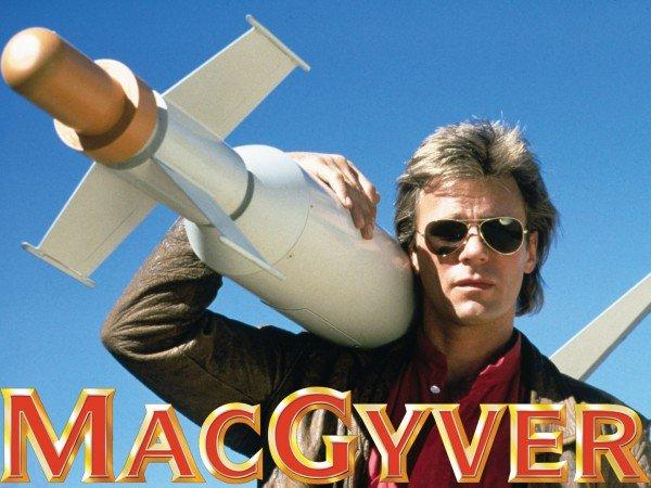 Seriado MacGyver - Imaginação Fértil